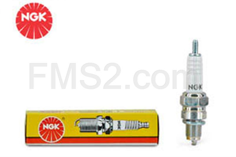 Candela NGK B6HS, filetto corto standard, ricambio N0747060
