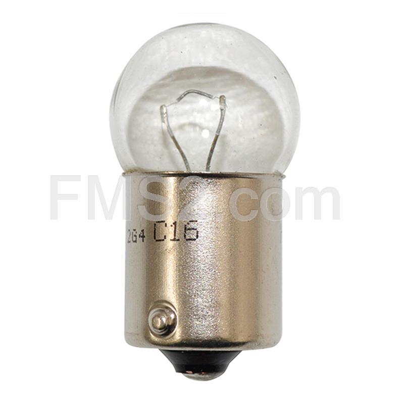 12 V 10 W SCC BA15s-Lato//coda - Confezione da 2 RW245LL Anello lampadine standard