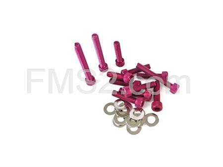 Kit viti carter messa in moto Minarelli rosse TNT, ricambio 171004