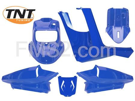 Kit carene naked blu metallizzato BW'S  2004 TNT, ricambio 366163