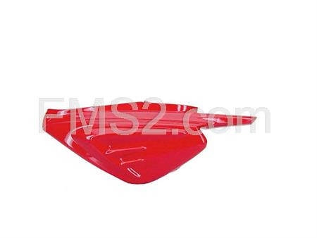 Carena posteriore sinistra Booster Next generation rosso Racing TNT, ricambio 366804