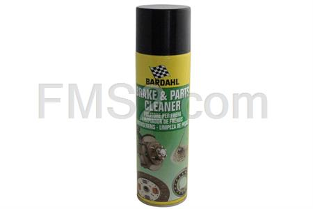 Spray Brake parts cleaner pulisce segmenti, tamburi, dischi dei freni e la frizione,  500 ml Bardahl, ricambio 606031