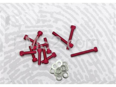 Kit viti carter messa in moto Minarelli rosse (One Italia), ricambio 77171004