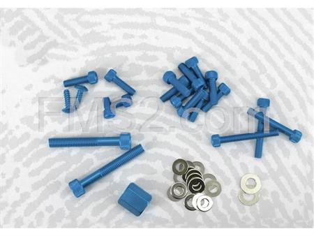 Kit viti decoro Booster Spirit blu (One Italia), ricambio 77171100