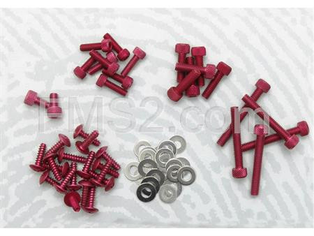 Kit viti decoro Booster Next generation rosse (One Italia), ricambio 77171107