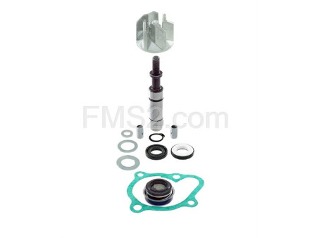 Kit revisione pompa acqua completa RMS per maxi scooter Kymco Downtown, K-Xct ie People Gti 200 e 300 cc 4 tempi, ricambio 100110490