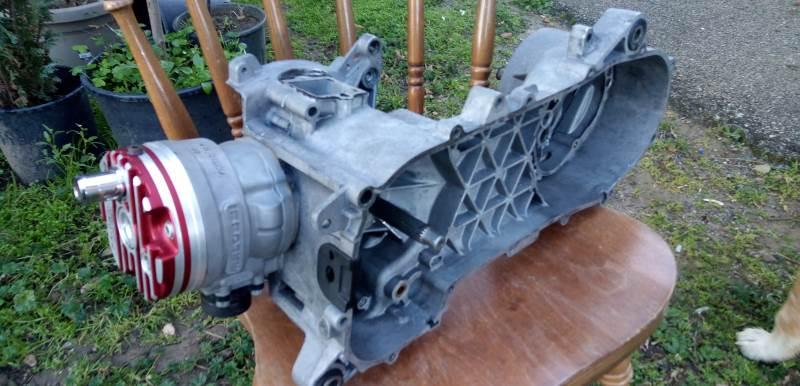 Motore zip Malossi 94cc