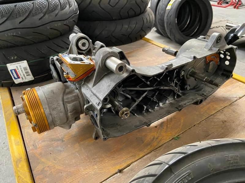 Vendo blocco TCR100 completo per Minarelli Yog Aerox e F12